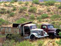 Castoffs - Rustic Old Abandoned Trucks