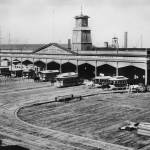 """""""Union Depot and Ferry House, 1877, San Francisco"""" by worldwidearchive"""