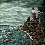 """Madelines Lighthouse"" by AveHurley"