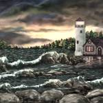 """Kathleens Lighthouse 2"" by AveHurley"