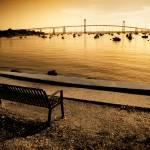 """""""Newport Bridge from Jamestown"""" by candidcaptures"""