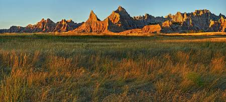Sunset on the Badlands