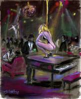 Piano dancer