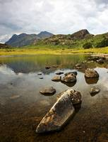 Blea Tarn and the Langdale Pikes