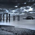 """1818 Brighton - West Pier"" by andylinden"