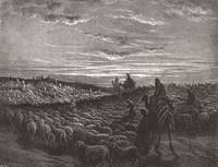 Abraham Journeying in to the Land of Canaan