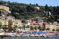 The Beach at Santa Margherita Ligure