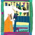 """""""JUNGLE SCENE"""" by PatMeyersPrints"""
