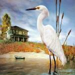 """Egret"" by drfdesigns"