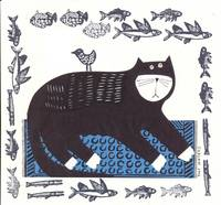BLACK CAT STAMPED