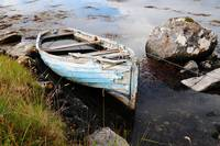 Rowing Boat by Shore