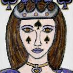 """Queen of Spades"" by HeidiZeile"
