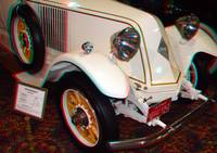 1923 Renault, (anaglyph image)