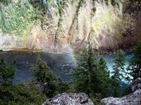Rainbow on the Yellowstone