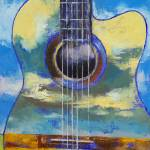 """Guitar and Clouds"" by creese"