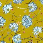 """""""Blue Japanese Chrysanthemums"""" by LauraHall"""