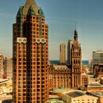 """Downtown Milwaukee"" by sedetweiler"