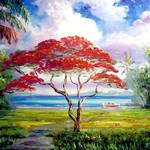 """Royal Poinciana Lakeview"" by mazz"
