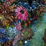 """Blue Monarch"" by LesaFisher-Artworks"