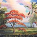 """Royal Poinciana Shack"" by mazz"