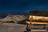 Zabriskie Point by Flashlight