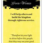 """Good Works"" by mormonmodern"