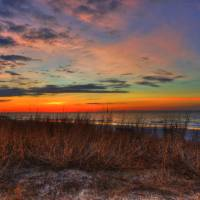 Dawn Over the Dunes Art Prints & Posters by Renee Peoples
