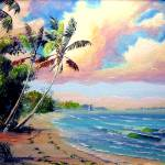 """Tropical Beach"" by mazz"