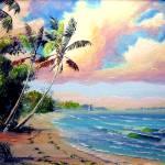 """Tropical Beach"" by mazz"