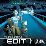 """Technotise Ediit i Ja - poster"" by technotise"