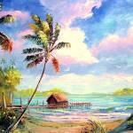 """Boat house Beach"" by mazz"