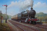 GWR 2.8.0 on Whiteball bank.