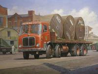 British Road Services AEC Mammoth Major