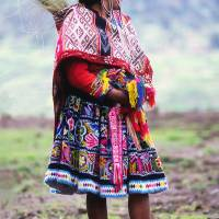 Peruvian Woman Art Prints & Posters by Michael Willis@galleriasojourn
