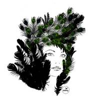 Nature Feathers Woman