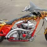 """skull bike"" by jpt"