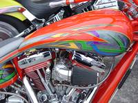 closeup motorcycle