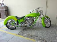 lime green bike
