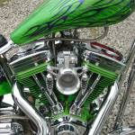 """green flame tank side"" by jpt"