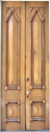 Tall Wood Doors