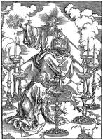 St Johns Vision of Christ & the Seven Candlesticks