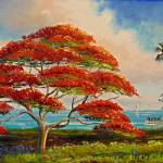 """Royal Poinciana Panoramic"" by mazz"