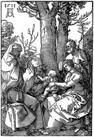 The Holy Family with Joachim & Anna