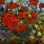 """""""Geraniums"""" by FiresignArt"""