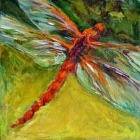Dragonfly Art Prints & Posters by Nanci Cook