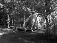 Black & White sharecropper house