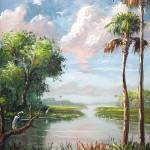"""Florida River View"" by mazz"