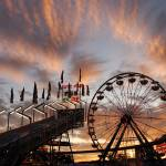 """20090827 Sunset at Cal Expo"" by TomSpaulding"