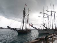 Pride of Baltimore, St. George's Harbour, Bermuda
