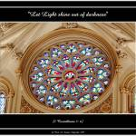 """Cathedral Stained Glass Window (Faith-18v)"" by Artists4God"